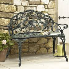 wrought iron chairs patio amazon com best choice products bcp outdoor patio garden bench