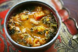 roasted veggies thanksgiving kale and roasted vegetable soup recipe simplyrecipes com