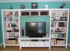 Ikea Tv Unit Ikea Hemnes Tv Stand With Shelving For The Home Pinterest
