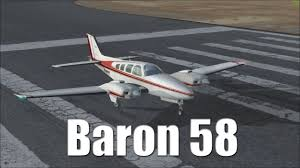fsx tutorial beechcraft baron 58 youtube