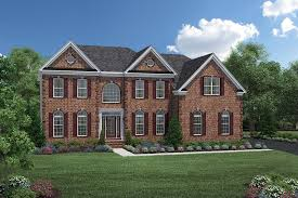 Federal Home Plans Toll Brothers At Oak Creek The Hampton Home Design