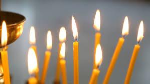 chanuka candles chanuka candles stock footage 4176832