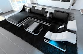 sofa mit led sofa u form kaufen leather sectional sofa monza u shaped