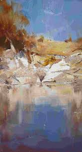 ken knight nice brushwork and color palette art art and