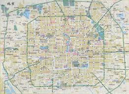 Road Map Of America by Large Road Map Of Beijing In Chinese Beijing Large Road Map In