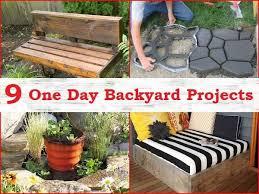 Diy Ideas For Backyard Cheap Diy Backyard Ideas Nicupatoi