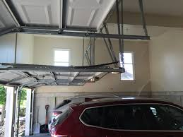 garage garage height for car lift storage overhead auto lift