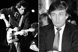 keith richards once threatened to knife fight donald trump