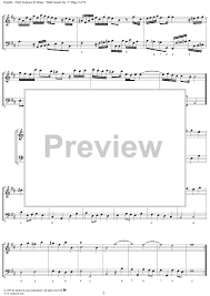 flute sonata in b minor hwv 376 sheet for piano and more