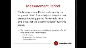What Is Employer Mean Ppaca Look Back Period What Does It Mean For My Business Youtube
