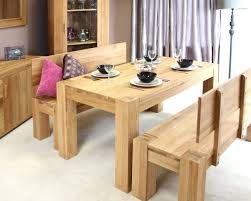 alluring bench chair for dining table 1way room set with benchjpg