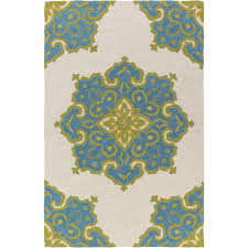 Bamboo Outdoor Rug Rena Indoor Outdoor Rug Turquoise Lime