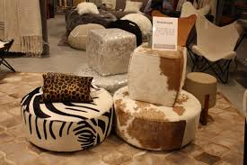 Cowhide Uses How To Use A Cowhide Ottoman To Create A Cowboy Chic Decor