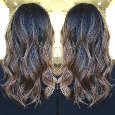 medium lentgh hair with highlights and low lights highlights lowlights for dark brown hair 60 balayage hair color