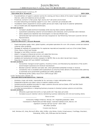 Sample Resume For Supply Chain Management by Resume In Supply Chain Management And Logistics Sales