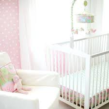 dreamer white and pink crib bedding set million dollar baby