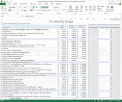 How To Budget Spreadsheet Wedding Budget Spreadsheet Template Hynvyx