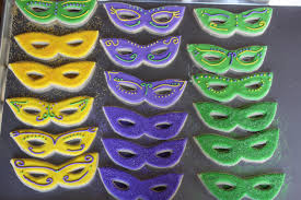 mardi gras cookie cutters crave indulge satisfy mardi gras mask cookies