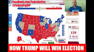Election 2016 Map by How Trump Will Win The 2016 Election Going Through Electoral Map