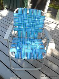 Rewebbing Patio Furniture by Little Homestead In Boise Re Webbing A Vintage Lawn Chair Mini
