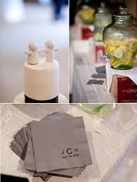 wedding cake napkins wedding details adorable white wedding cake topper slate grey