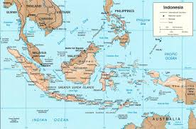 Asia On Map by Map Of Indonesia Indonesia Travel Map Indonesia Political Map