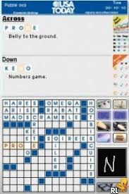 Challenge Usa Today Usa Today Crossword Challenge U Independent Rom Nds Roms