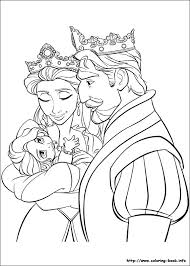 tangled coloring sheets kids coloring pages kids