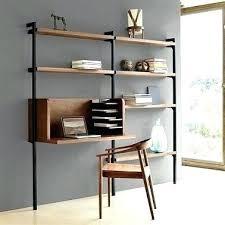 étagère à poser sur bureau bureau et etagere ik idkids en bois gris anthracite murale domeno