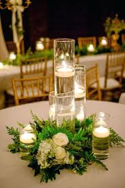 fall flowers for wedding floating candle centerpieces wedding reception with led lights