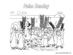 palm sunday coloring pages bebo pandco