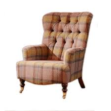 Button Back Armchair Tate Button Back Chair