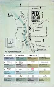 Oregon Wineries Map by Map U2014 Pdx Urban Wineries