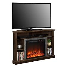 corner tv cabinet with electric fireplace dorel overland electric fireplace corner tv stand walmart canada