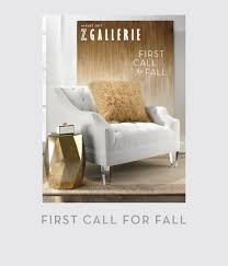 Free Home Decor Catalog Request by Lookbook Z Gallerie