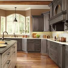 gray stained kitchen cupboards gray stained cabinets houzz