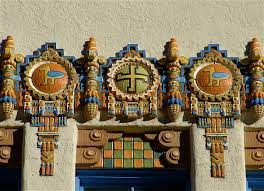 deco route 66 kimo theater albuquerque new mexico photo by tinagroo art