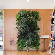 Indoor Vertical Gardens - livingroom wall plants indoor vertical garden pots indoor green