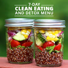 7 day clean eating and detox menu