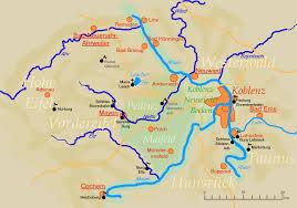 Koblenz Germany Map by Koblenz