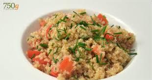 comment cuisiner quinoa recette de salade de quinoa 750 grammes