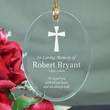 memorial ornaments personalized in memory ornaments