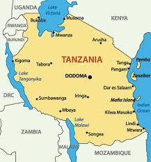 Tanzania Map Tanzania Lhl