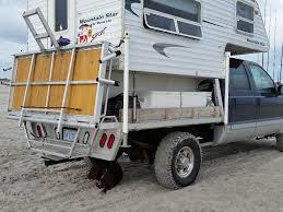 survival truck camper eric u0027s ford f250 4 4 travel lite camper u2013 truck camper hq