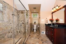 LuxurybathroomdesignsBathroomTraditionalwithbuiltinshower - Designer bathrooms by michael