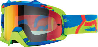 fox motocross goggles new product fox airspc goggles dirt action