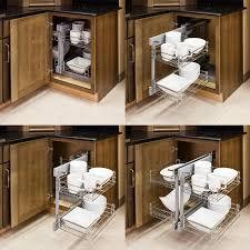 Kitchen Cabinet Corner Solutions Chrome Cs Shm