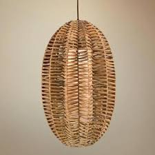 Wicker Pendant Lights Rattan Pendant L Shade Above Pendant Lights From Made In See