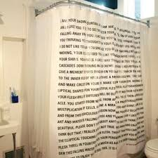 Shower Curtains With Quotes Quotes About Shower Curtains 23 Quotes