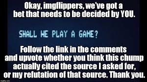 Play All The Games Meme - shall we play a game from war games latest memes imgflip
